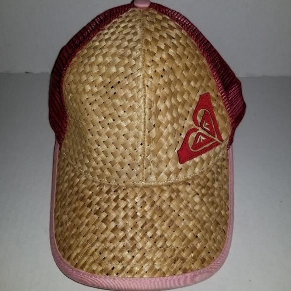 cd82474143a0c6 Rare Women's Genuine Roxy Wicker Snapback Hat. M_5b8da1fade6f62c672f687cc